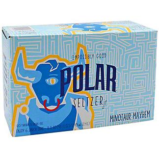 Polar Seltzer Minotaur Mayhem, 6 Pack