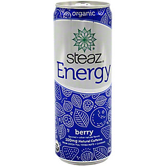 Steaz Energy Berry, 12 oz