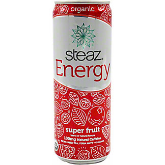 Steaz Energy Super Fruit, 12 oz
