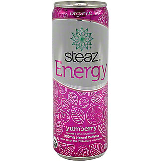 Steaz Energy Yumberry , 12 oz