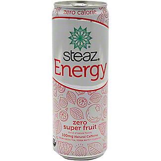 Steaz Energy Zero Cal Super Fruit, 12 oz