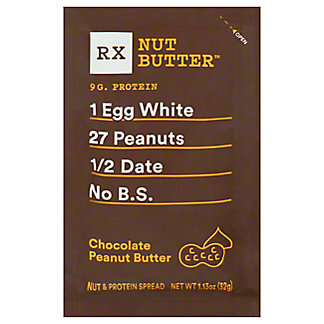 RxBar Nut Butter Chocolate Almond Peanut Butter, 1.13 oz