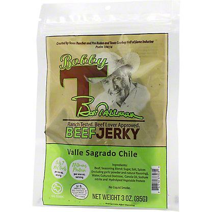Bobby T's Valle Sagrado Chile Beef Jerky, 3 oz