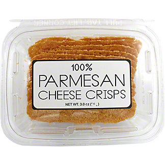 100% Parmesan Cheese Crisps, 3 OZ