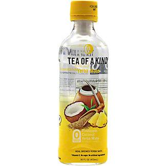 Tea of a Kind Pineapple Coconut Yerba Mate Tea, 16 oz