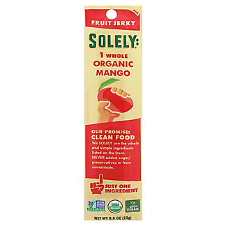 Solely Fruit Jerky Mango, 0.8 OZ