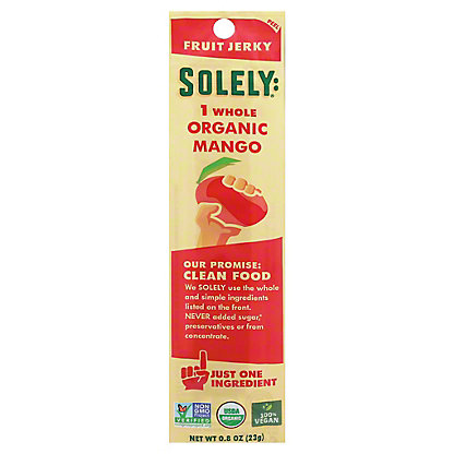 Solely Fruit Jerky Mango, 0.8 OZ