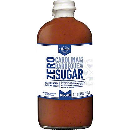 Lillies Q Sauce BBQ Zero Sugar Carolina, 20 oz