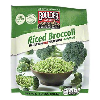 Boulder Canyon Broccoli Rice Unseasoned, 10 oz