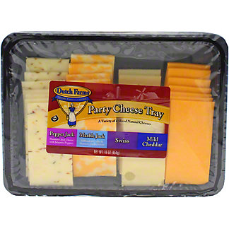 Dutch Farms Party Cheese Tray, 16 OZ