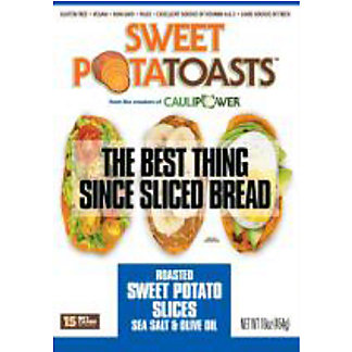 Caulipower Sweet Potatoasts Sea Salt Olive Oil, 16 oz