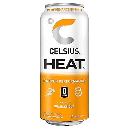 Celsius Heat Orangesicle, 16 oz