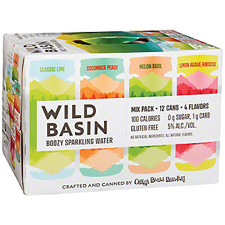Wild Basin Boozy Sparkling Water Mix Pack 12 oz Cans , 12 pk