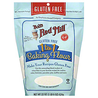 Bob's Red Mill Gluten Free 1 to 1 Baking Flour, 22 oz