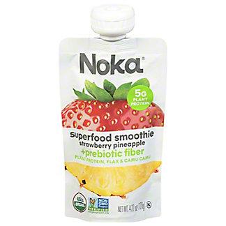 Noka Organic Strawberry Pineapple Superfood Smoothie, 4.22 oz