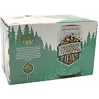 Odell Mountain Standard IPA 12 oz Cans, 6 pk