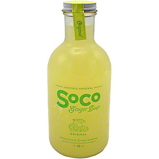 Soco Ginger Beer Original, 16 OZ