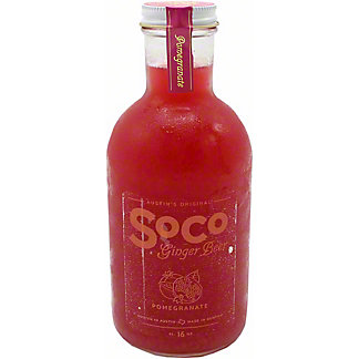 Soco Ginger Beer Pomegranate, 16 OZ
