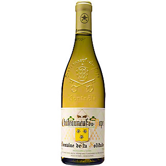 Domaine De La Solitude Chateauneuf-De-Pape Blanc White Wine , 750 mL