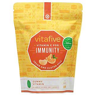 Vitafive Immunity Vitamin C Gummies 250MG, 60 ct