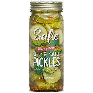 Safie Pickles Sweet & Spicy, 16 oz