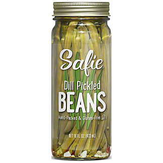 Safies Safies Dill Pickled Beans, 16 oz