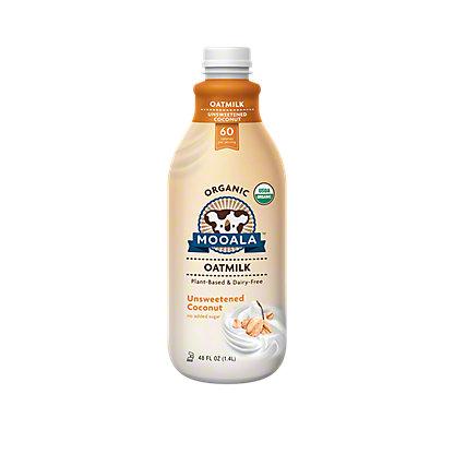 Mooala Oatmilk Coconut Unsweetened Organic, 48 OZ