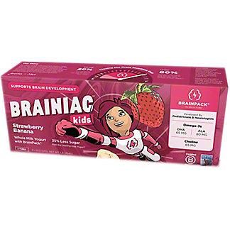 Brainiac Yogurt Tubes Strawberry Banana, 8 ct