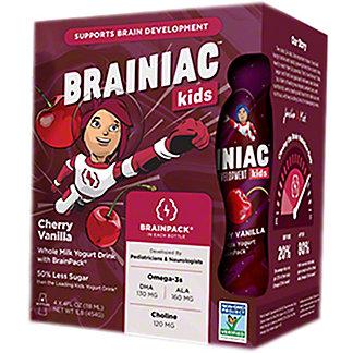 Brainiac Yogurt Drink Cherry Vanilla 4PK, 16 OZ