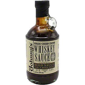 Johnny's Whiskey Sauce, 12 oz