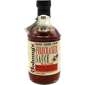 Johnny's Firecracker Sauce, 12 oz