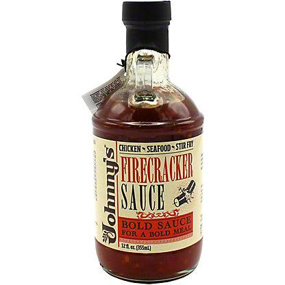 Johnny's Firecracker Sauce, 12 oz