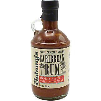 Johnny's Caribbean Rum Sauce, 12 oz