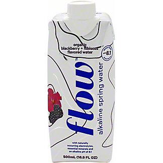 Flow Water Blackberry Hibiscus Flavored, 16.9 oz