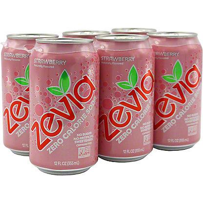 Zevia Strawberry Soda 6 Pack, 6 pk