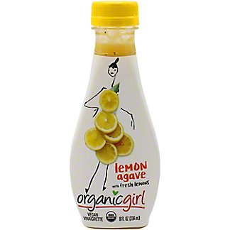 OrganicGirl Lemon Agave Salad Dressing, 8 oz