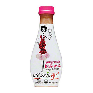 OrganicGirl Pomegranate Balsamic Salad Dressing, 8 oz