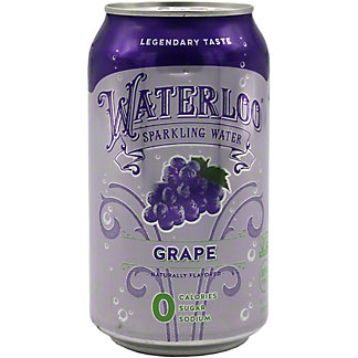 Waterloo Single Grape, 12 OZ
