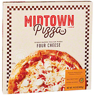 Midtown Pizza Co. by H-E-B Select Ingredients Four Cheese Pizza, 14.3 oz