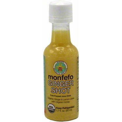 Monfefo Cold Pressed Shot Ginger Organic, 1.7 OZ
