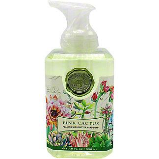 Michel Design Works Pink Cactus Foaming Soap, 17.8 oz