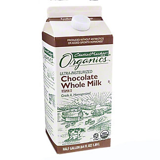 Central Market Organics Chocolate Milk, 64 OZ