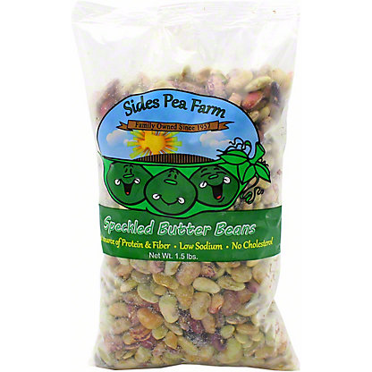 Sides Pea Farm Speckled Butter Beans , 1.5 LB