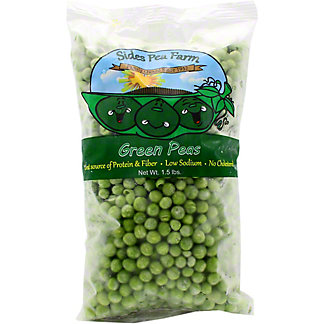 Sides Pea Farm Green Peas 1.5 LB