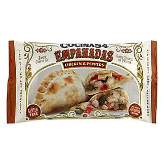 Cocina 54 Chicken & Peppers Empanada, 4 oz