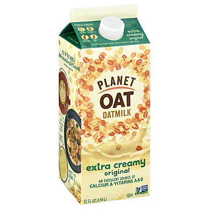 Planet Oat Oat Milk Extra Creamy, 52 oz