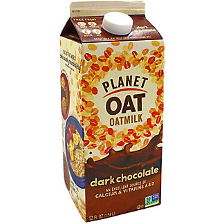 Planet Oat Dark Chocolate Oat Milk, 52 oz