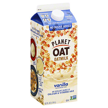 Planet Oat Oat Milk Vanilla, 52 oz