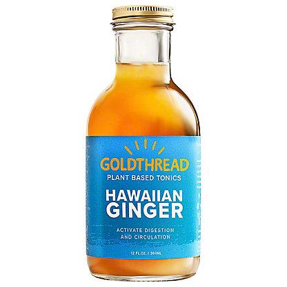 Goldthread Tonic Hawaiian Ginger, 12 oz
