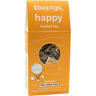 Teapigs Organic Happy Tea, 15 CT